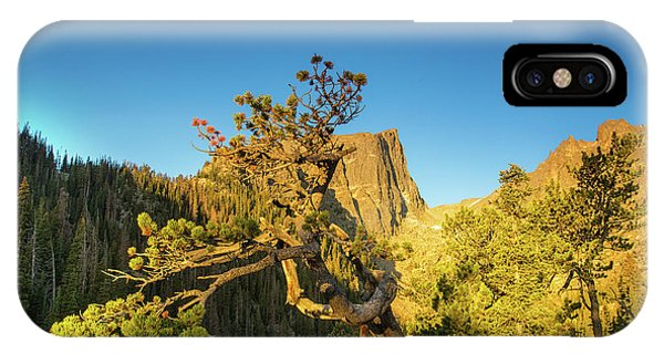 Rocky Mountain Np iPhone Case - Moon Over Dreams by Kunal Mehra