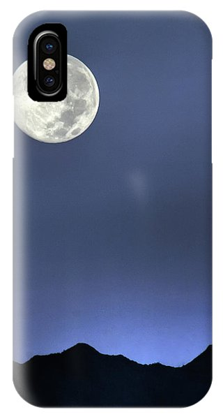 Moon Over Ko'olau IPhone Case