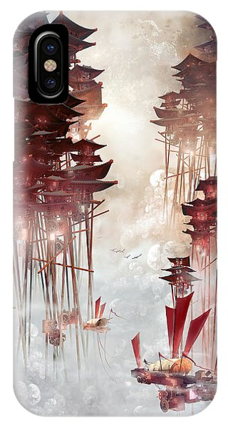 Cause iPhone Case - Moon Palace by Te Hu