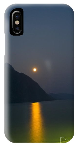 Moon Path IPhone Case