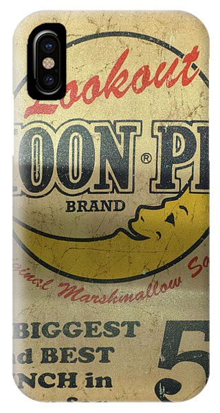 Moon Pie Antique Sign IPhone Case