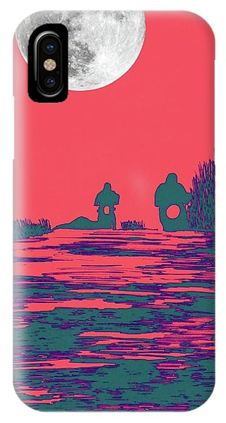 Moon Racers IPhone Case