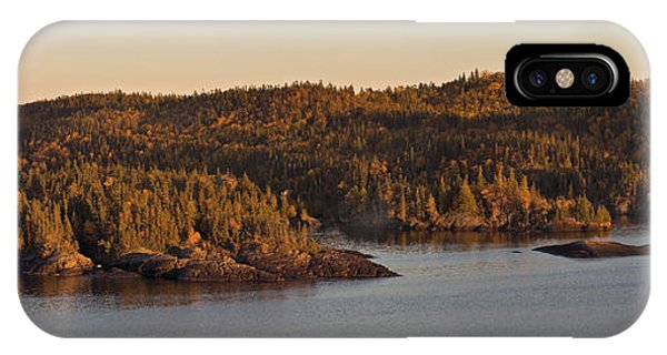 Moon Rise Over Pukaskwa IPhone Case