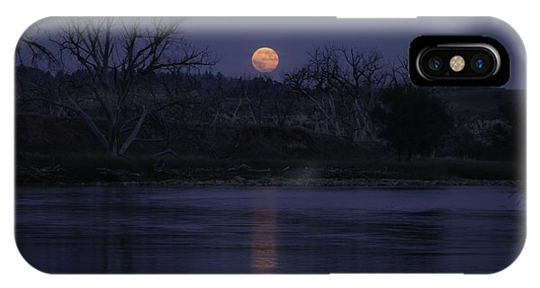 Moon Rise Over The Tongue IPhone Case