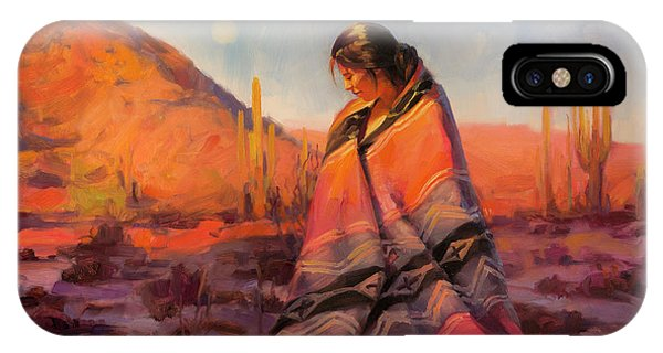 Magician iPhone Case - Moon Rising by Steve Henderson