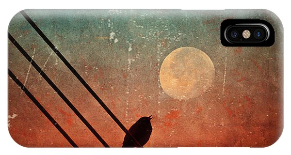 Moon Talk IPhone Case