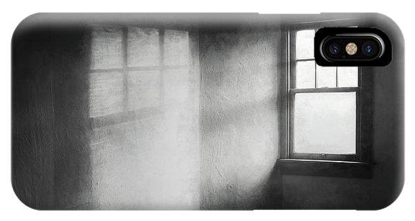 Beam iPhone Case - Moonbeams On The Attic Window by Scott Norris