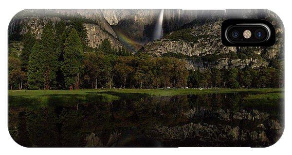 Moonbow Upper Falls IPhone Case