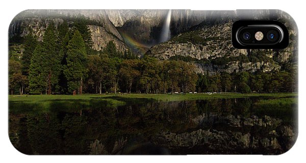 Moonbow Upper Falls IPhone Case