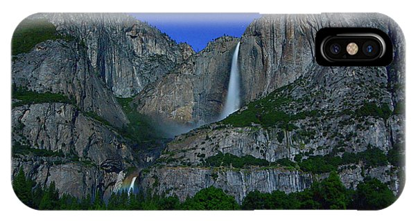 Moonbow Yosemite Falls IPhone Case