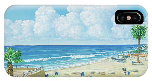 Moonlight Beach IPhone Case
