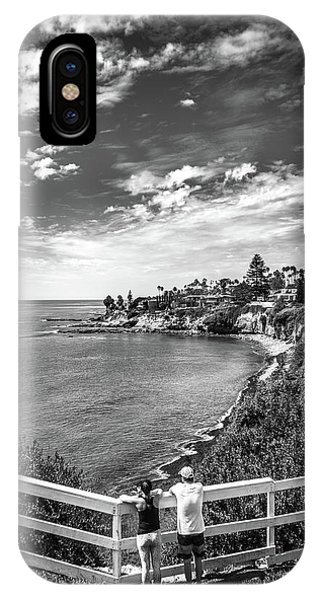 IPhone Case featuring the photograph Moonlight Cove Overlook by T Brian Jones