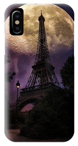 Moonlight In Paris IPhone Case