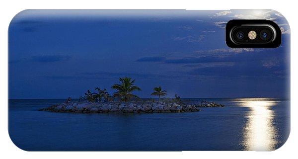 Moonlight Island IPhone Case