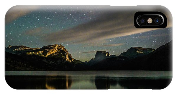 Moonlight On Green River Lake IPhone Case