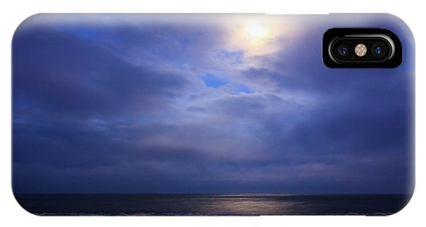 Moonlight On The Ocean At Hatteras IPhone Case