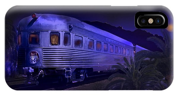 Moonlight On The Sante Fe Chief IPhone Case