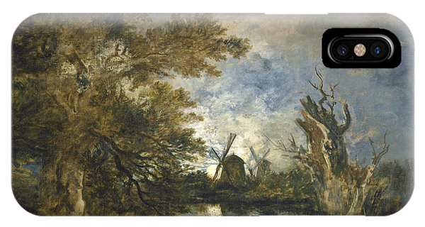 Moonlight On The Yare IPhone Case