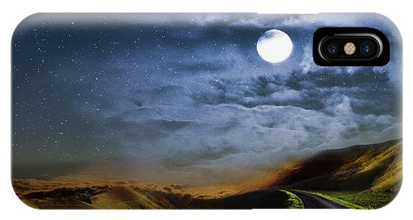 Moonlight Path IPhone Case