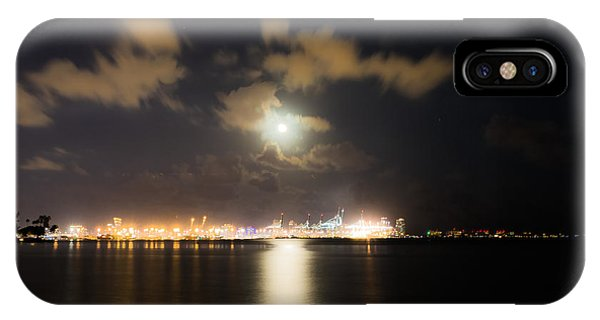Moonlight Reflections IPhone Case