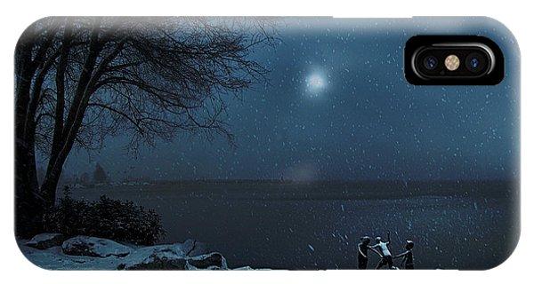 Moonlight Romp IPhone Case