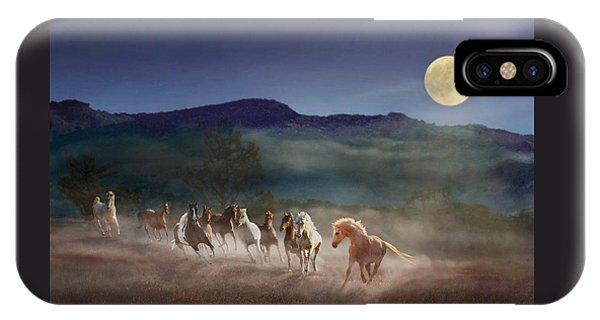 Moonlight Run IPhone Case