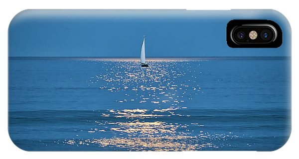 Moonlight Sail 2 - Ogunquit Beach - Maine IPhone Case