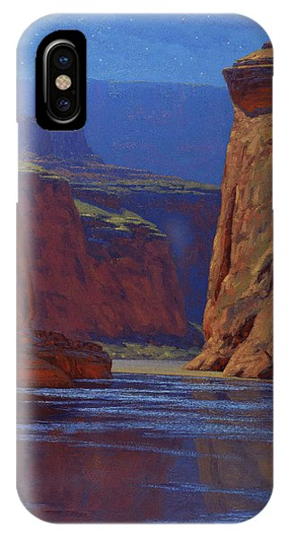 Canyon iPhone Case - Moonlight Serenade by Cody DeLong