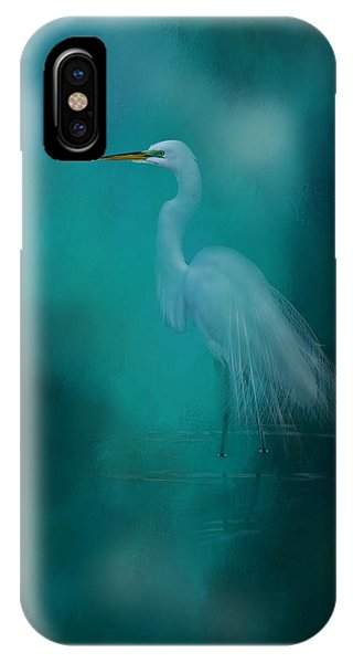 Egrets iPhone Case - Moonlight Serenade by Marvin Spates