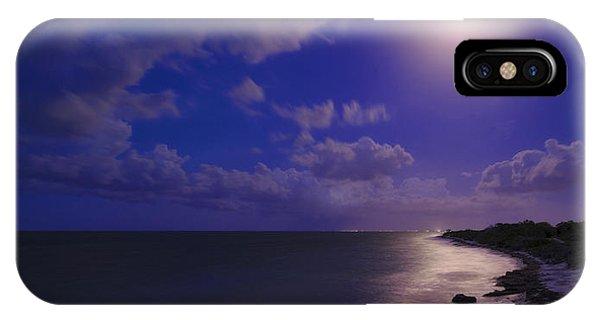 Moon iPhone Case - Moonlight Sonata by Chad Dutson