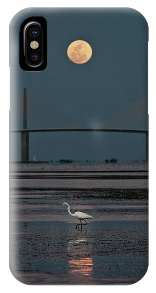 Moonlight Stroll IPhone Case