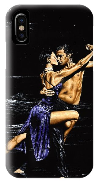 Tango iPhone Case - Moonlight Tango by Richard Young