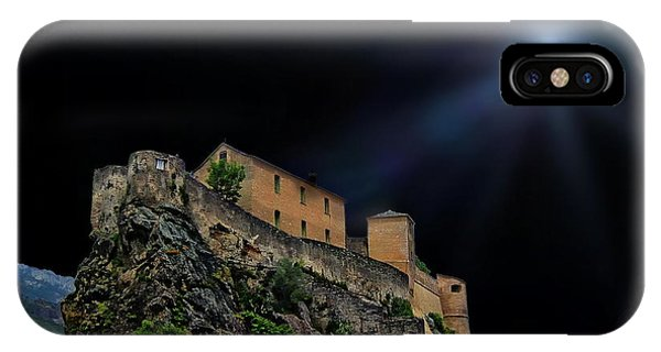 Moonlit Castle IPhone Case