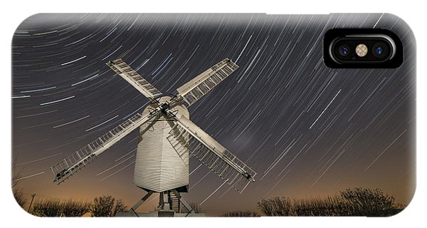 Moonlit Chillenden Windmill IPhone Case