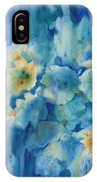 Moonlit Flowers IPhone Case