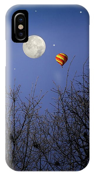 Moonlit Ride IPhone Case