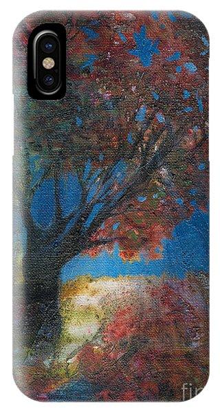 Moonlit Tree IPhone Case