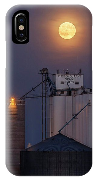 Moonrise At Laird -02 IPhone Case
