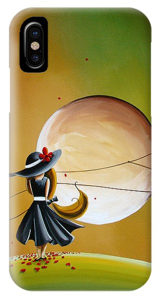 Imagination iPhone Case - Moonrise by Cindy Thornton