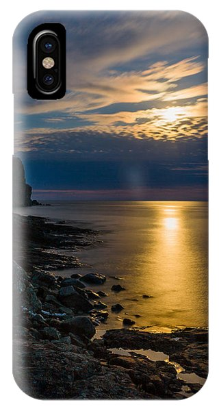 Moonrise From The Cloudbank IPhone Case