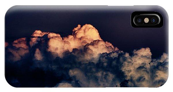 Moonrise In Taos IPhone Case