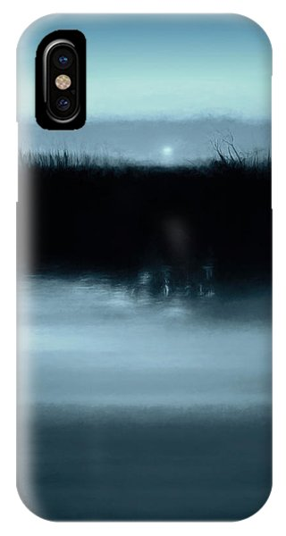 Kettles iPhone Case - Moonrise On The Water by Scott Norris