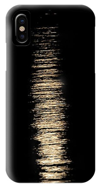Moonrise Over Monroe Harbor Chicago 0158 IPhone Case