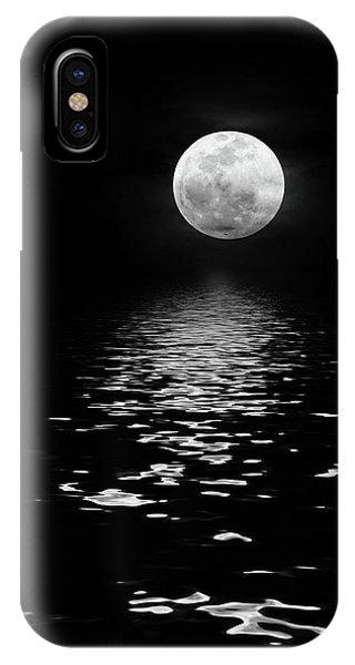 Moonrise Over The Atlantic IPhone Case