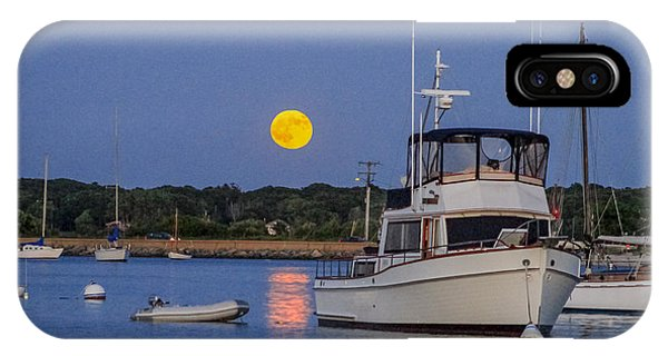 Moonrise Vineyard Haven IPhone Case