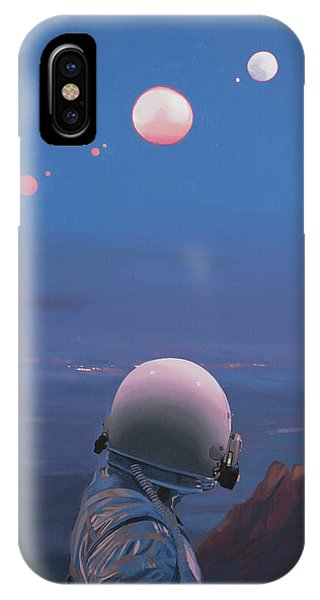 Moons IPhone Case