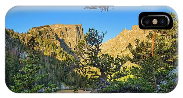 Rocky Mountain Np iPhone Case - Moonset Over Dream Lake by Kunal Mehra