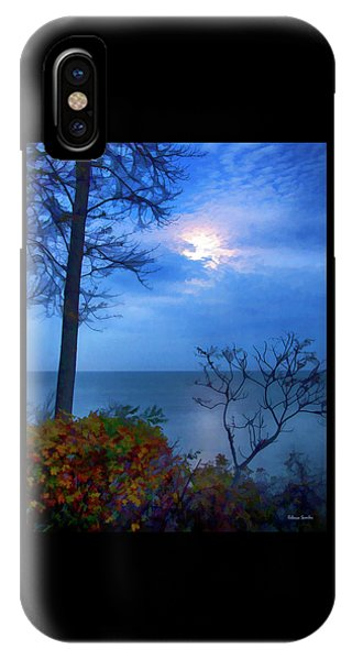 Moonset 1 IPhone Case