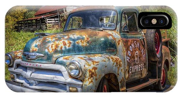 Chilhowee iPhone Case - Moonshine Truck by Debra and Dave Vanderlaan