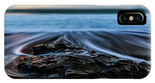 Moonstone Beach In The New Year IPhone Case